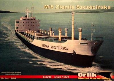 048          *            M/S Ziemia Szczecinska (1:200)        *      ORL