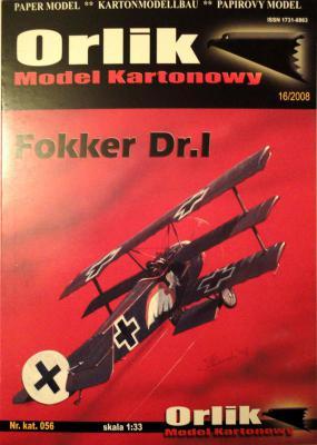 056        *          Fokker Dr.I (1:33)        *        ORL