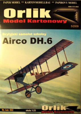 062       *       Airco DH.6 (1:33)        *        ORL