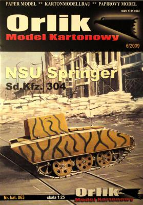 063            *              NSU Springer  Sd.Kfz.304 (1:25)      *       ORL