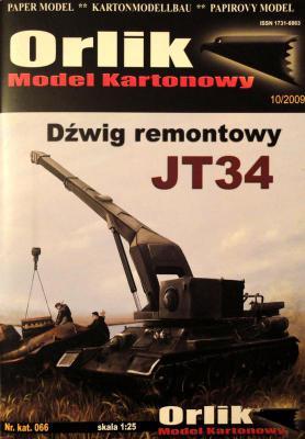 066         *           Dzwig remontowy JT34 (1:25)         *      ORL
