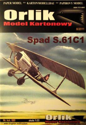 080        *          Spad S.61C1 (1:33)    *    ORL