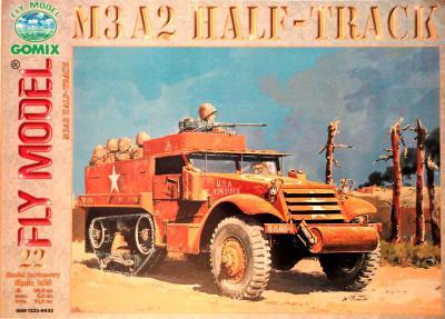 GOM-022     *      M3A2 Half-Track (1:25)