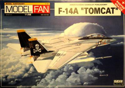 11       *    11\98    *     F-14A Tomcat (1:33)      *      M-FAN