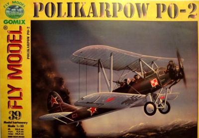GOM-039    *    Polikarpow PO-2 (1:33)