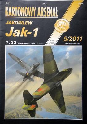 73      *     5\11   *   Jakowlew JAK-1 (1:33)      *        HAL