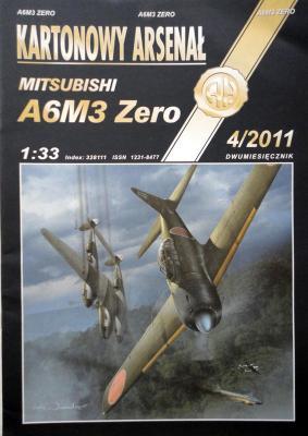 72        *    4\11   *     Mitsubishi A6M3 Zero (1:33)       *       HAL