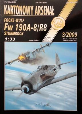 64    *  3\09     *   Fucke-Wulf FW 190A-8/R8  (1:33)      *      HAL