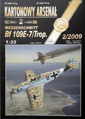 63    *    2\09    *   Messerchmit BF 109E-7/Trop  (1:33)       *        HAL