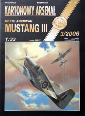 54       *     3\06    *    North American Mustang III  (1:33)      *      HAL