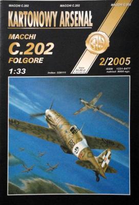 48       *     2\05    *    Macchi C.202 Folgore (1:33)     *       HAL
