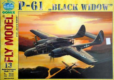 "GOM-013           *                P-61 ""Black widow""  (1:33)"