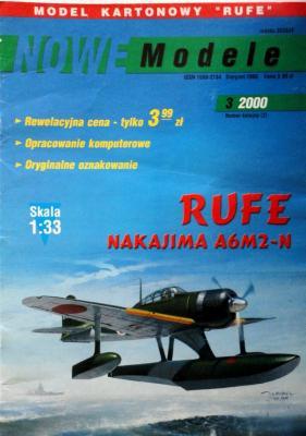 3\00       *      Rufe Nakajima A6M2-N (1:33)      *     NOWE