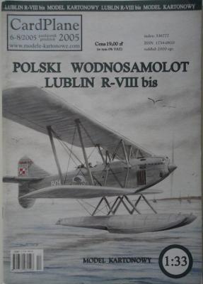 6-8\05      *       Polski wodnosamolot Lublin R-VIII bis (1:33)    *   CARD-PLAN