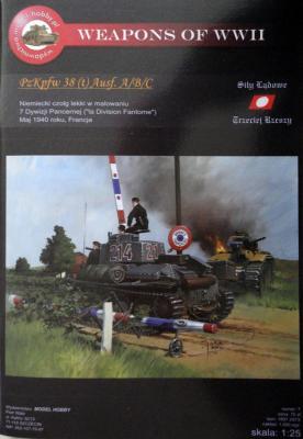 M\H-07         *              PzKpfw 38 (t) Ausf. A/B/C (1:25)