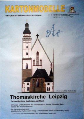 001  *  Thomaskirche Leipzig (1:250)    *   MDK