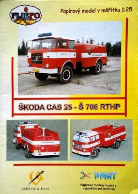 001a   *   Skoda CAS 25-S 706 RTHP (1:25)    *   PMHT