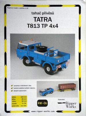 006          *             Tatra T813 TP 4x4 (1:32)        *      RIP