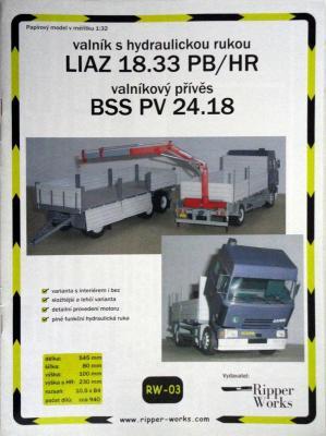 003       *          Liaz 18.33 PB/HR, BSS PV 24.18 (1:32)       *      RIP