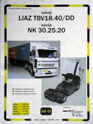 002           *           Liaz TBV18.40/DD, NK 30.25.20 (1:32)       *      RIP