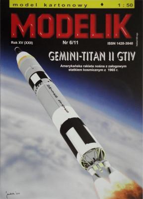 MOD-281     *    6\11    *  Gemini-Titan II GTIV (1:50)