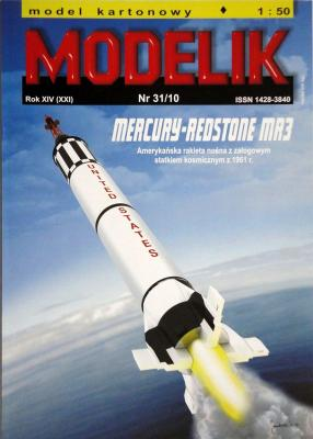 MOD-274      *    31\10     *    Mercury-Redstone MR3 (1:50)