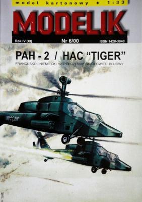 "MOD-041            *     6\00       *       PAH-2 / HAC ""Tiger"" (1:33)"