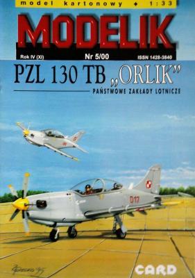 "MOD-040       *     5\00     *     PZL 130 TB ""Orlik"" (1:33)"