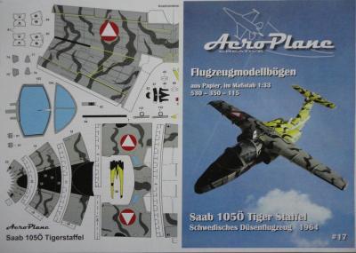 17        *           Saab 105 O Tiger Staffel (1:33)   *   AEROPLANE