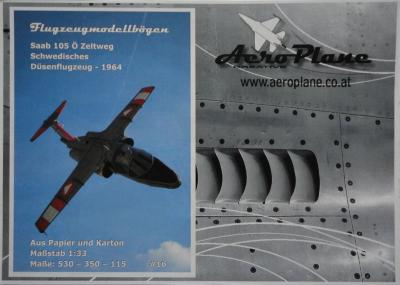 16         *    Saab 105 O Zeltweg (1:33)   *   AEROPLANE
