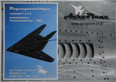 01    *     Lockheed F-117A (1:33)   *   AEROPLANE