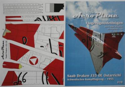 19       *          Draken J35 OE Dragon Ostarrichi (1:33)   *   AEROPLANE