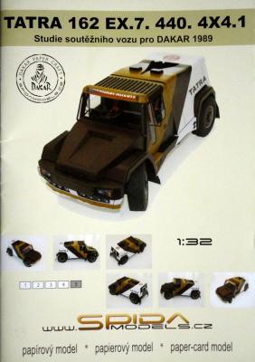 022     *        Tatra 162 EX.7 440 4*4.1 (1:32)   *   SPIDA-DAKAR