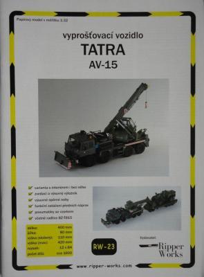 023       *          Tatra AV-15 (1:32)        *      RIP