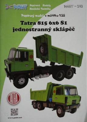 018      *     Tatra 815 NTH 6*6 S1(1:32)   *   PMHT