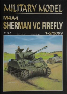 029       *    1-2\09    *   M4A4 Sherman VC firefly (1:25)       *      HAL *  MM