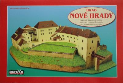 028\2010   *    Hrad Nove Hrady  1:250     *     BETEXA