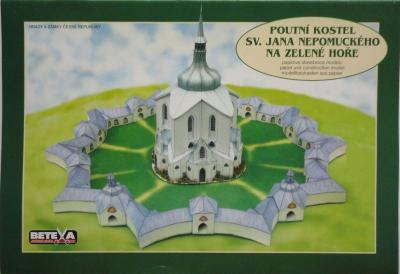 004\2002   *    Poutni kostel sv. Jana Nepomuckeho na Zelene hore   1:250     *      BETEXA