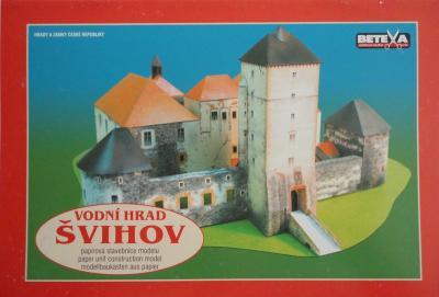 014\2006  *   Vodni hrad Svihov     1:200    *    BETEXA