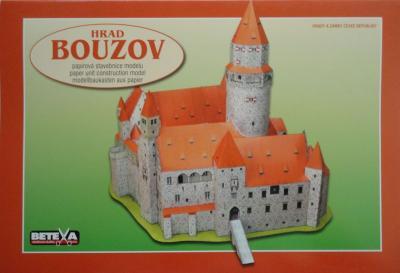 029\2010    *   Hrad Bouzov   1:200     *      BETEXA