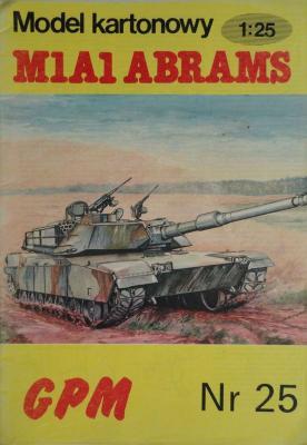 025       *         M1A1 Abrams (1:25)       *     GPM-J