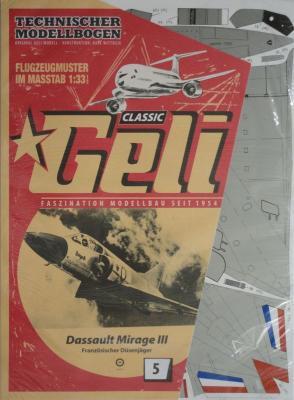 005      *       Dassault Mirage III (1:33)     *    GELI