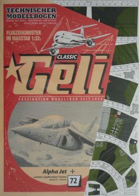 072    *     Alpha Jet (1:33)     *    GELI