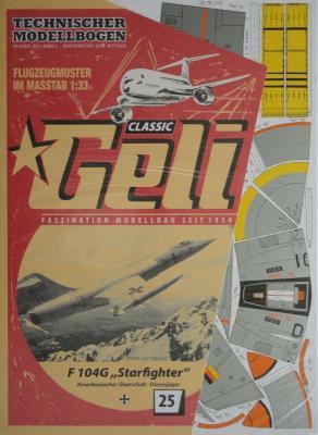 "025    *     F 104G ""Starfighter"" (1:33)      *     GELI"