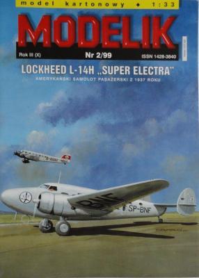 "MOD-033      *    2\99    *   Lockheed L-14H ""Super Electra"" (1:33)"