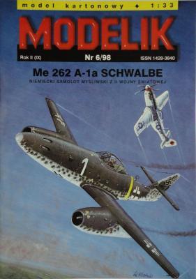 MOD-019      *    6\98     *    Me 262 A-1a Schwalbe (1:33)