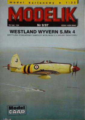 MOD-009      *    9\97    *    Westland Wyvern S.Mk 4 (1:33)      +кабина