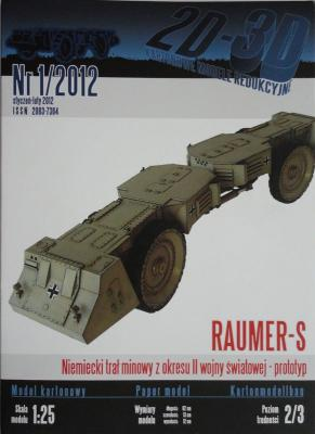 003  *   01\12       *       Raumer-S (1:25)     *    2D-3D