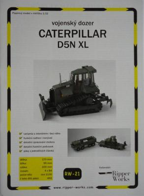 021*Caterpillar D5N XL (1:32)   *   RIP