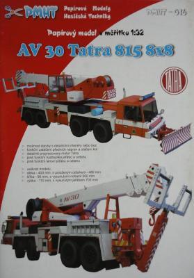 016    *       AV 30 Tatra 815 8x8 (1:32)      *         PMHT